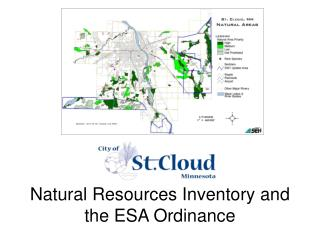 Natural Resources Inventory and the ESA Ordinance