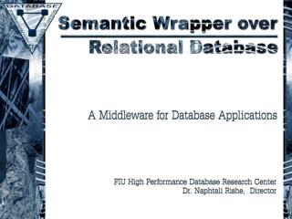 Semantic Wrapper over Relational Databases
