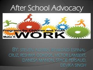 After School Advocacy