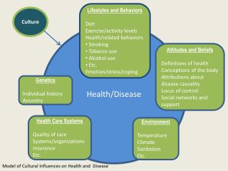 beliefs related to health care