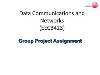 Data Communications and Networks (EECB423)