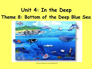 Unit 4: In the Deep