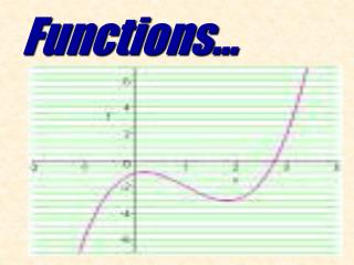 Functions…