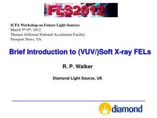 Brief Introduction to (VUV/)Soft X-ray FELs