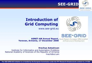 Introduction of Grid Computing