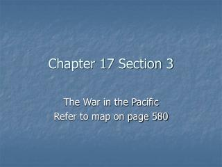 Chapter 17 Section 3