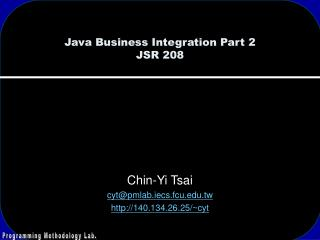 Java Business Integration Part 2 JSR 208