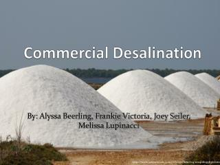 Commercial Desalination