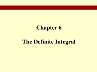 Chapter 12 Integral Calculus