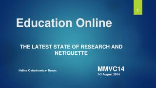 Education  Online