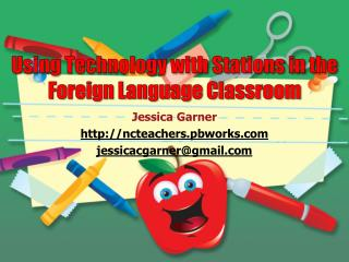 Using Technology with Stations in the Foreign Language Classroom