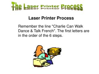 The Laser Printer Process