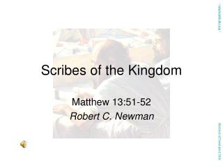 Scribes of the Kingdom