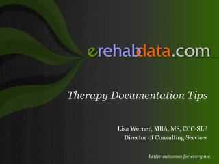 Therapy Documentation Tips