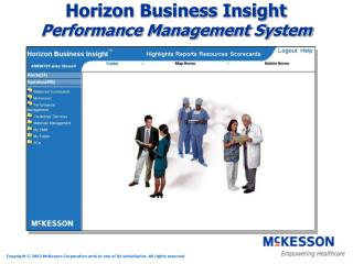 Horizon Business Insight Performance Management System