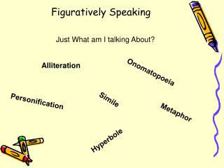 Figuratively Speaking
