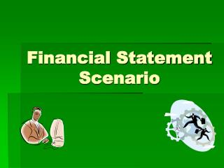 Financial Statement Scenario