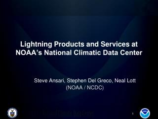 Lightning Products and Services at  NOAA's National Climatic Data Center