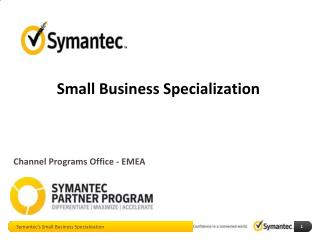 Small Business Specialization