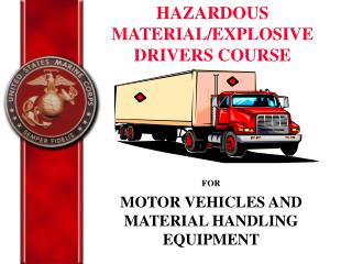 FOR MOTOR VEHICLES AND MATERIAL HANDLING EQUIPMENT