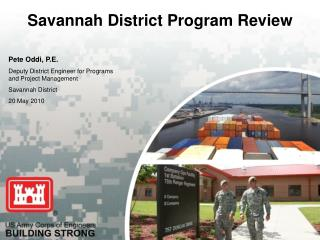 Savannah District Program Review