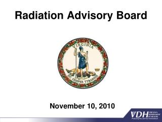 Radiation Advisory Board