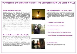 What Is Satisfaction With Life?