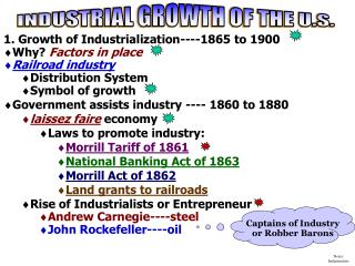 Notes:  Industrialists