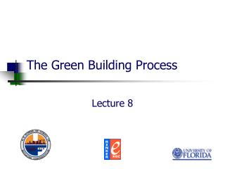 The Green Building Process