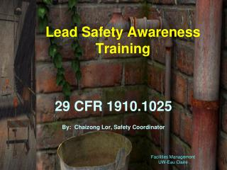 Lead Safety Awareness Training