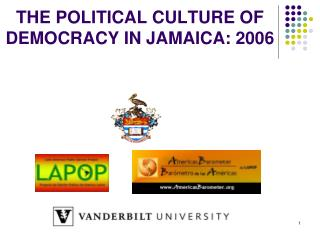 THE POLITICAL CULTURE OF DEMOCRACY IN JAMAICA: 2006