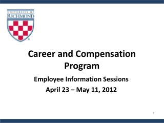 Career and Compensation Program
