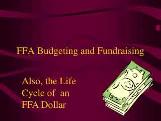 FFA Budgeting and Fundraising