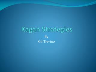 Kagan  Strategies