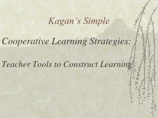 Kagan's Simple