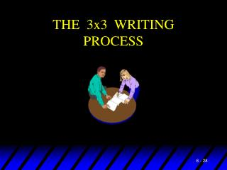 THE  3x3  WRITING  PROCESS