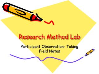 Research Method Lab
