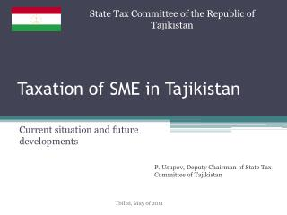 Taxation of SME in Tajikistan