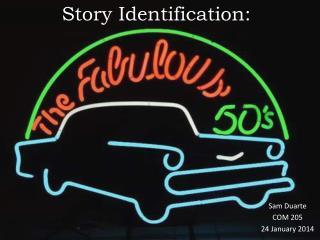 Story Identification: