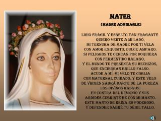MaTER (Madre Admirable)