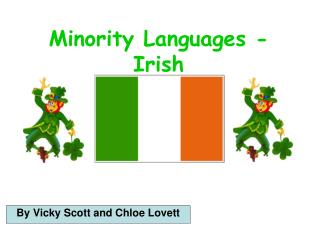 Minority Languages - Irish