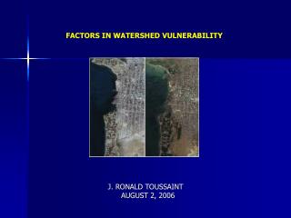 FACTORS IN WATERSHED VULNERABILITY