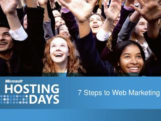 7 Steps to Web Marketing