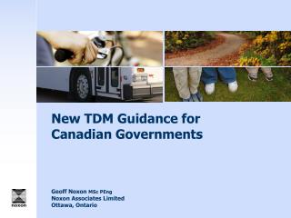 New TDM Guidance for Canadian Governments