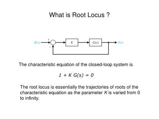 What is Root Locus ?