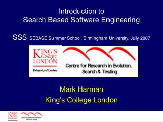 Mark Harman King's College London