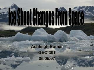 Ice Sheet Change