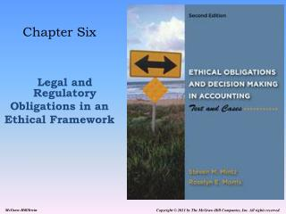 Chapter Six Legal and Regulatory Obligations in an Ethical Framework