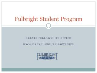 Fulbright Student Program