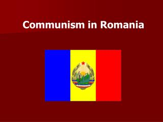 Communism in Romania